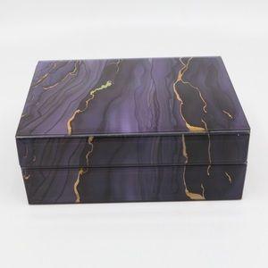Geode Design Acrylic Jewelry Box